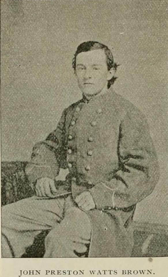 John Preston Watts Brown, 8th (Dibrell's) Tennessee Cavalry.
