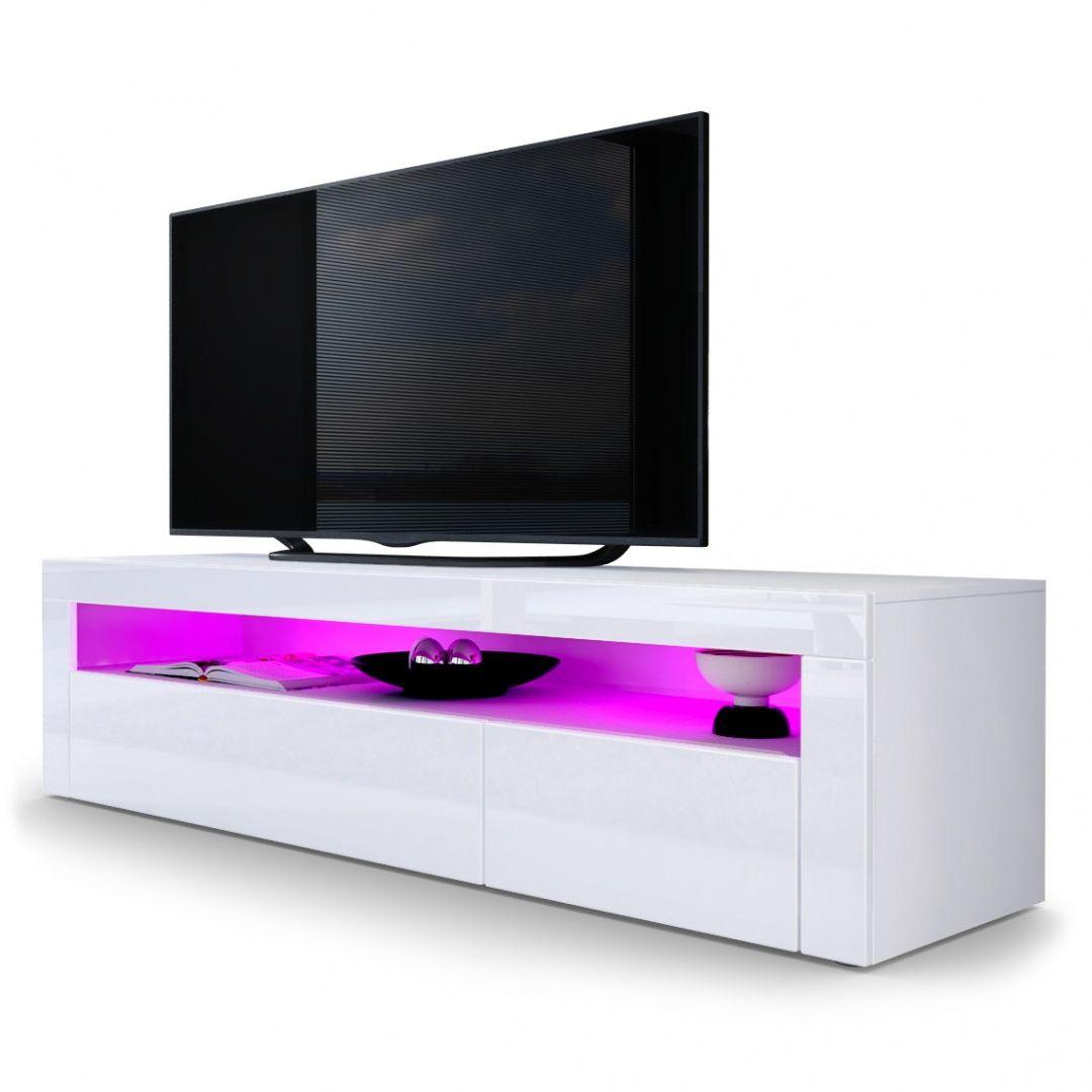 Valencia Tv Board Mit Optionaler Led Beleuchtung Und Fernbedienung Vladon De Living Room Tv Tv Stand Unit Living Room Tv Unit