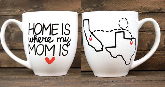 Mothers Day Gift Long Distance Relationship Hand Painted Home