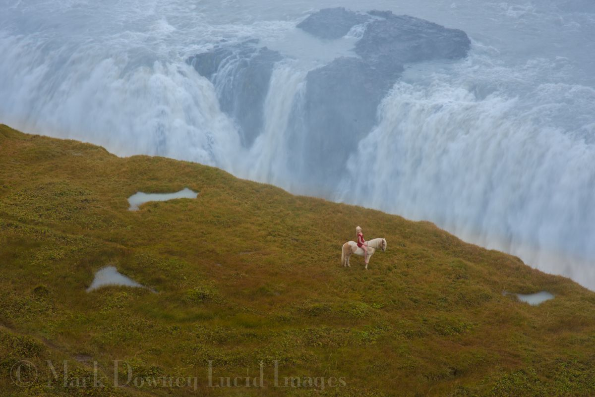 Inspired By Iceland Gulfoss Waterfall Iceland Prints For Sale