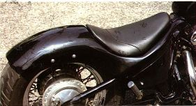 west eagle stream riders rear fender seat kit honda. Black Bedroom Furniture Sets. Home Design Ideas