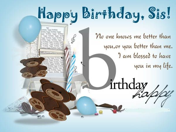 Happy birthday wishes for sister messages quotes cards img see happy birthday wishes for sister messages quotes cards img see more in m4hsunfo Images