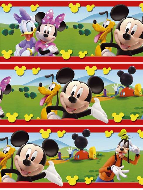 Mickey Mouse Border Clip Art Mickey Mouse Clubhouse