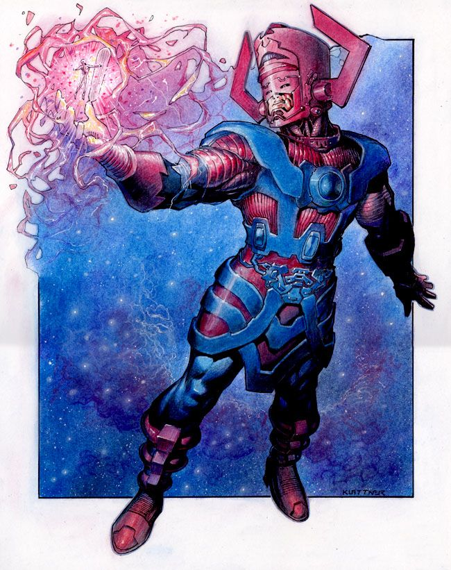 Galactus creates the Silver Surfer by Reverie-