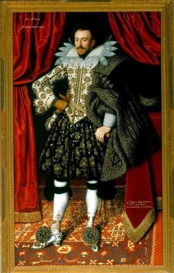 Richard Sackville, Earl of Dorset, 1613. by William Larkin