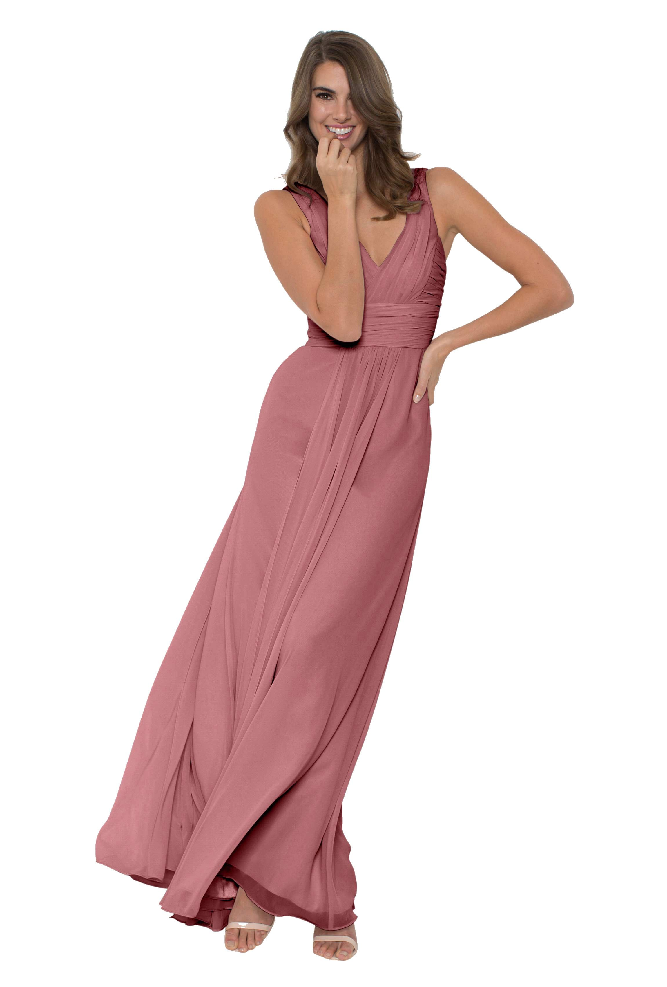 Monique Lhuillier Rebecca | Chiffon bridesmaid dresses, Bridal ...