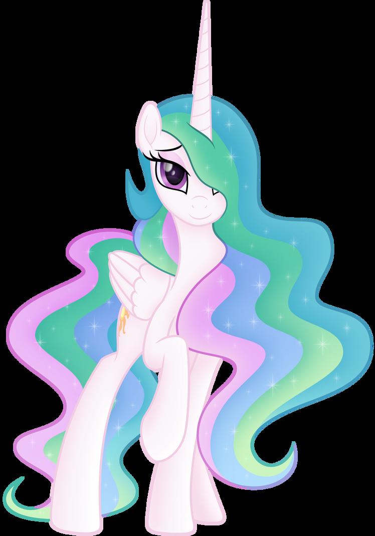 Princess Celestia Celestial Beauty By Negatif22 On Deviantart My Little Pony Princess My Little Pony Drawing My Little Pony Coloring