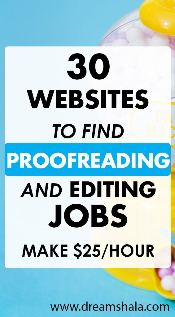 30 Websites To Find Freelance Editing And Proofreading Jobs Work From Home Jobs Online Jobs From Home Freelance Writing Jobs