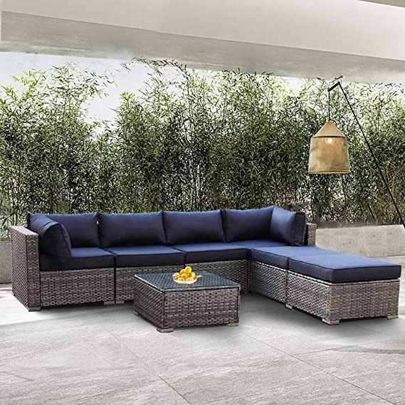 Pin By Shelby White On Dear Mom Austin Here Is This Incase You Run Out Of Gift Ideas Sectional Patio Furniture Wicker Patio Furniture Rattan Sofa