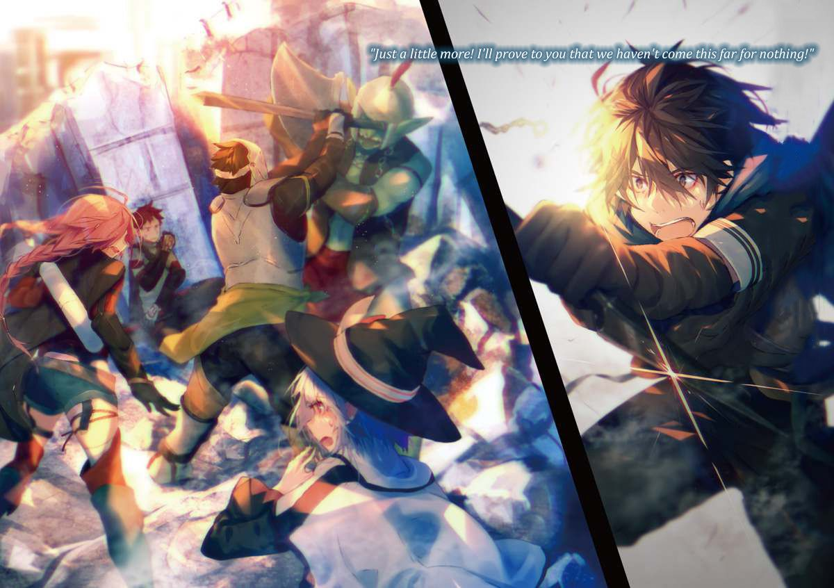 12 Ide Hai To Gensou No Grimgar Animasi Novel Ringan Manga Anime