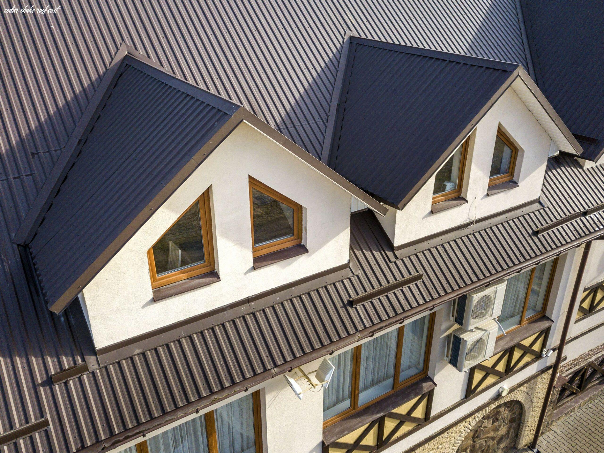 13 Cedar Shake Roof Cost In 2020 Metal Roof Cost Metal Roof Houses House Roof