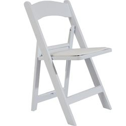Product Image For Flash Furniture Hercules Resin Folding Chairs In White Set Of 4 Folding Chair Padded Folding Chairs Flash Furniture
