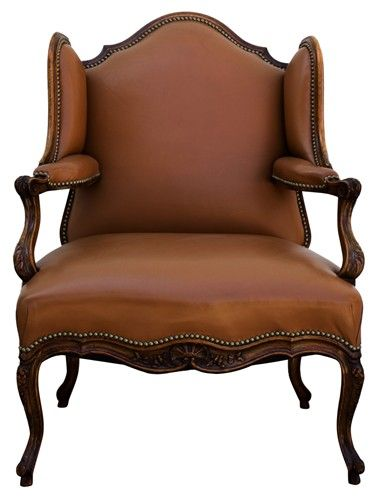 Residence French Antique Louis Xv Style Wing Chair Wing Chair American Style Interior French Antiques