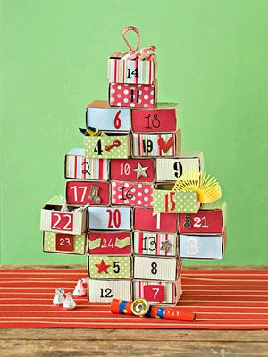 Matchbox Advent Box Easy christmas crafts, Crafts and Love this - how to create your own calendar