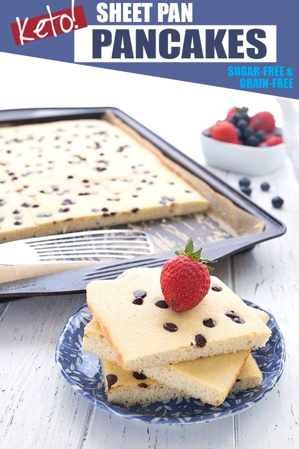 Keto Sheet Pan Pancakes