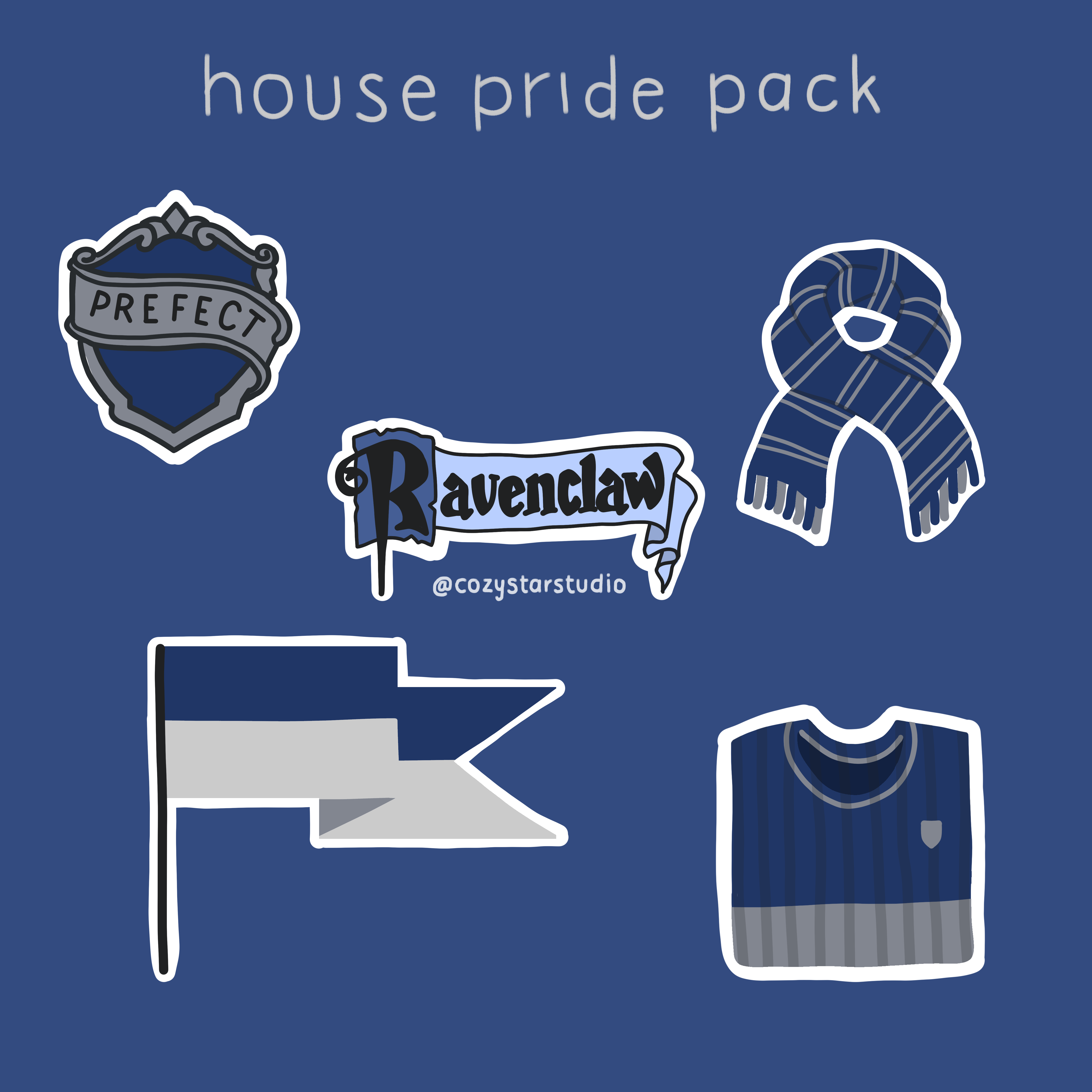 Hogwarts House Sticker Pack Harry Potter Stickers Ravenclaw Stickers Gryffindor Stickers Slytherin Stickers Hufflepuff Stickers In 2021 Harry Potter Stickers Cute Stickers Cute Harry Potter