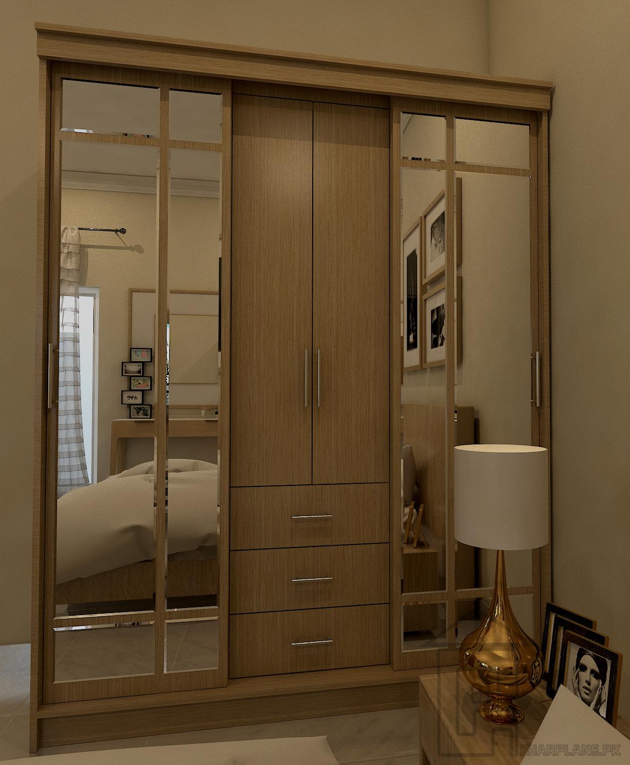 Wooden Almirah Design In Pakistan This Wooden Almirah Design In
