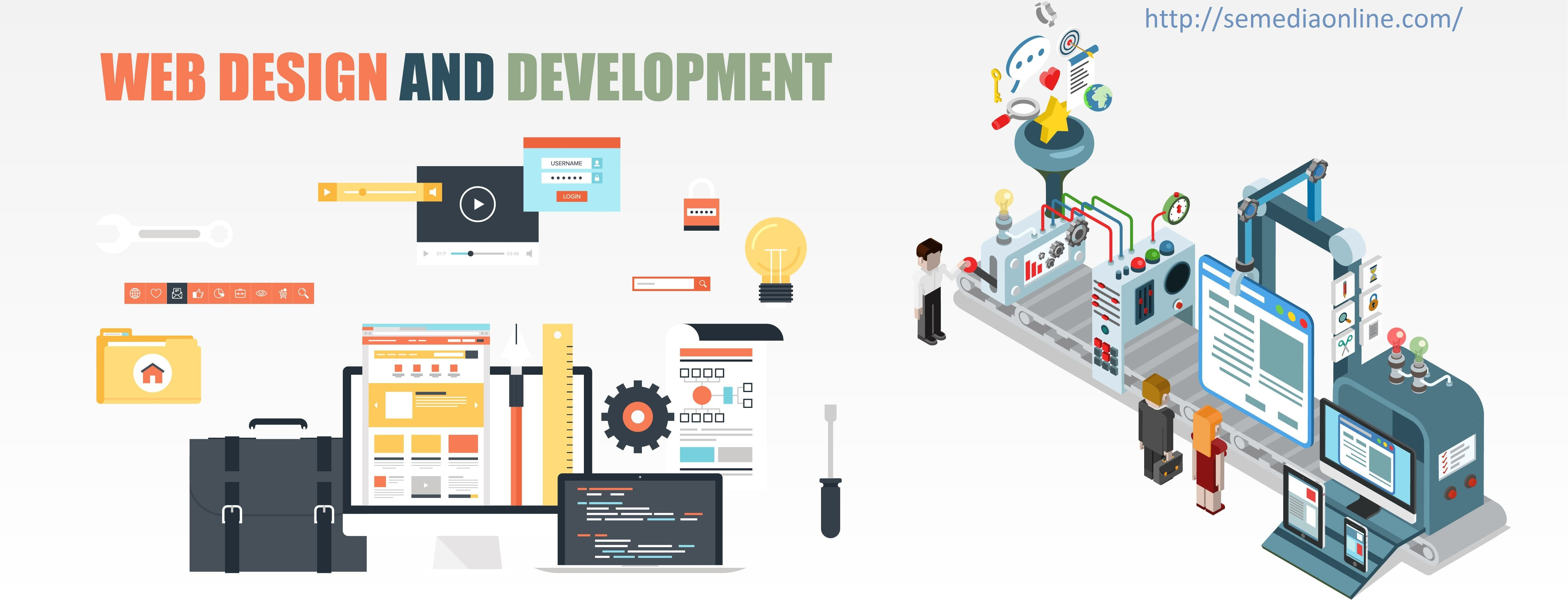 What does a professional Web Designing Company in India achieve? | Web  development design, Website design company, Web design company