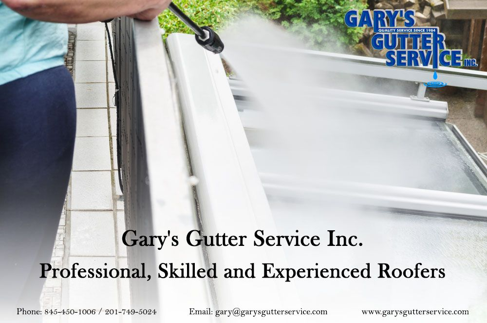 Gary S Gutter Service Inc Professional Skilled And Experienced Roofers Gutter Gutter Services Roofing Services