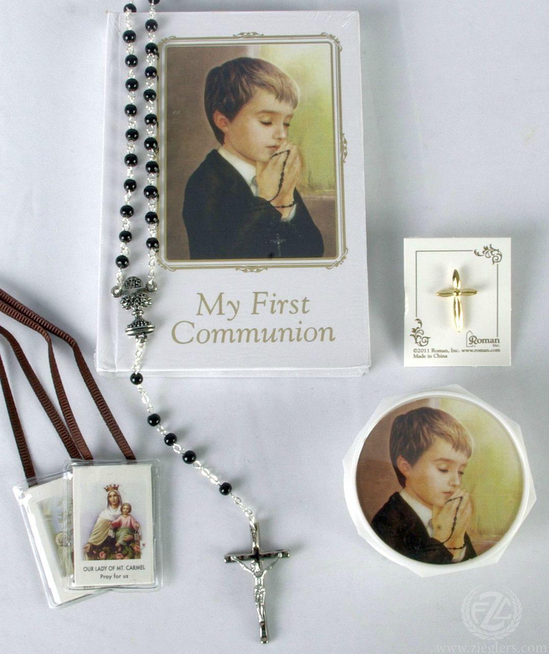 My First Communion   Missal Set   Boy   Style RO41478 - F.C. Ziegler Company