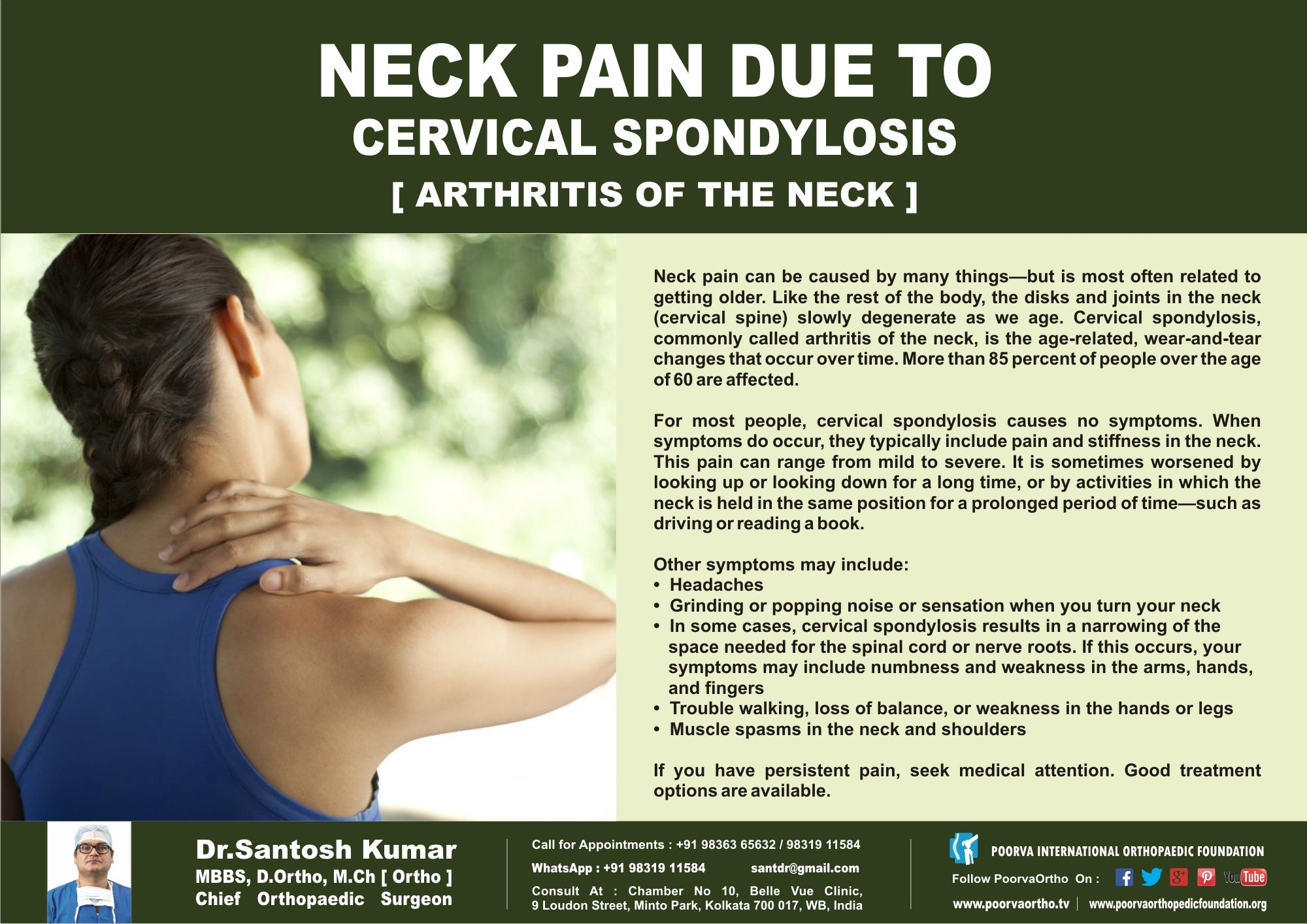 cervical spondylosis and headaches