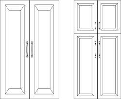 where to place handles on pantry door - Google Search