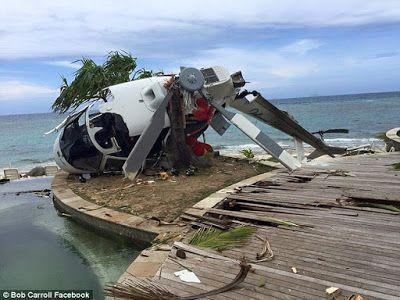 Video Horrific Helicopter Crash Fiji Treasure Island
