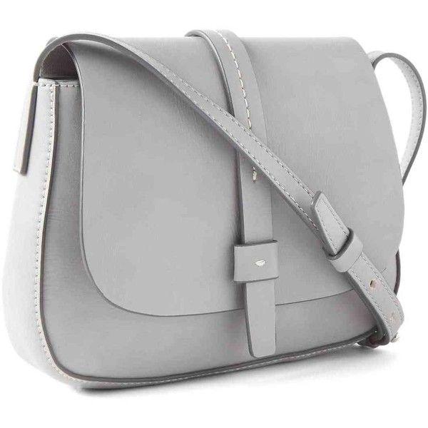 Gap Women Crossbody Saddle Bag ($28) ❤ liked