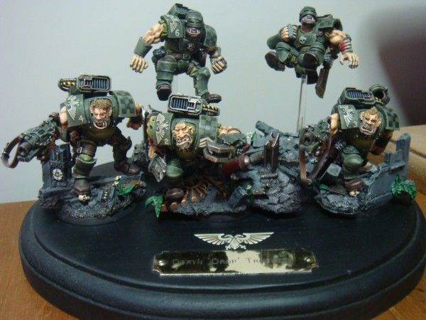 40k Elysian Ogryn Drop Troopers 40k Miniature Conversions