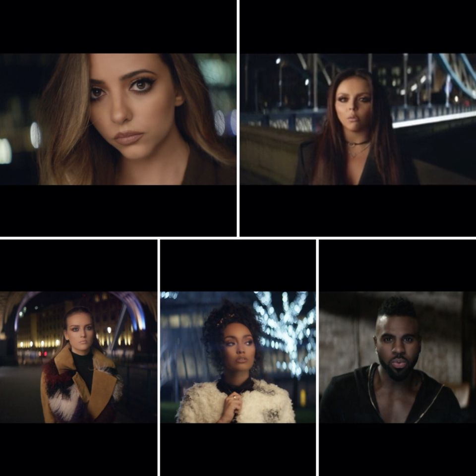 Secret Love Song video is awesome you should watch it on