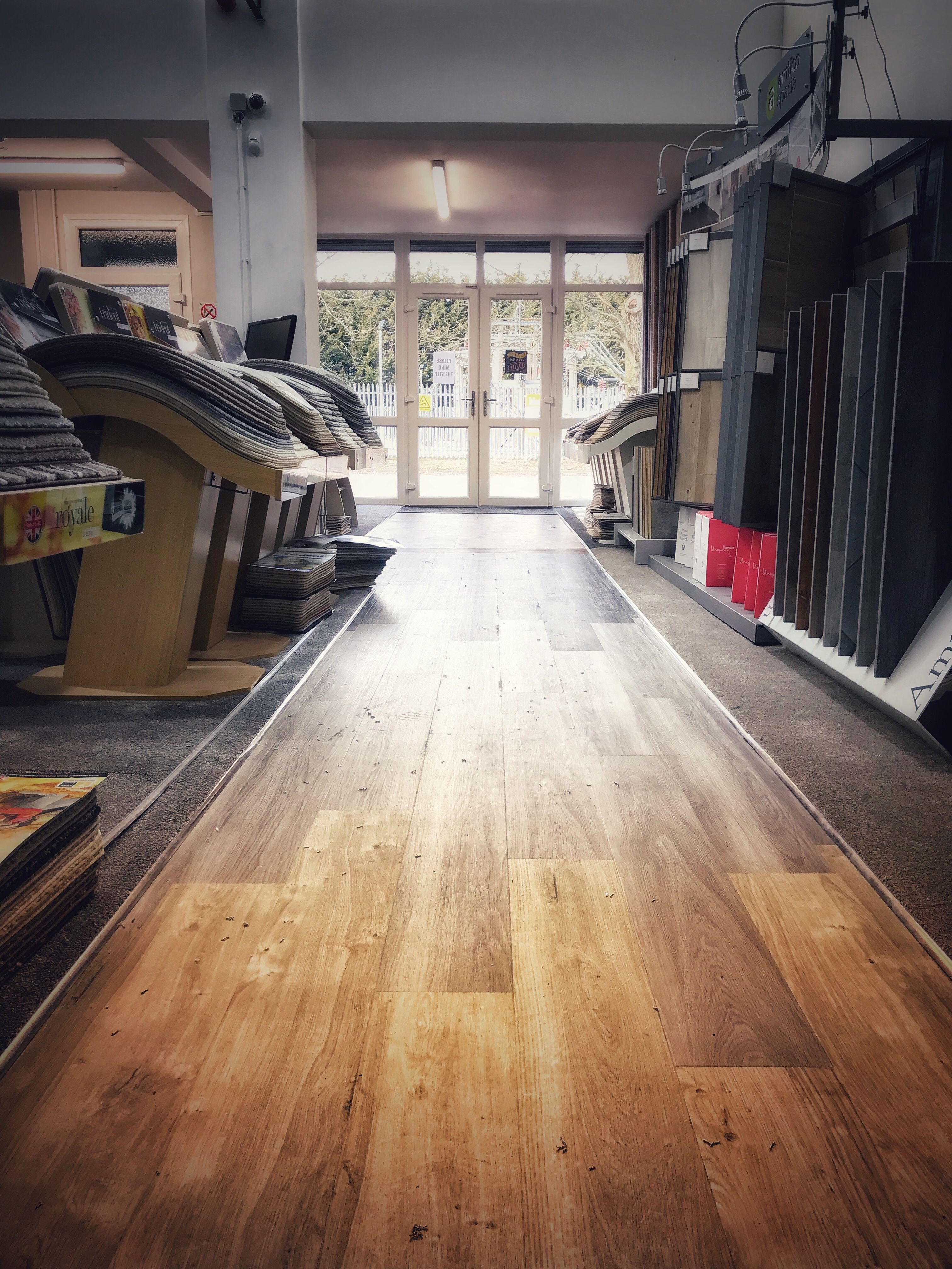 Amtico LVT flooring at Thetford Carpet Warehouse