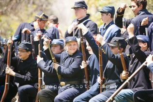8th Grade Civil War Reenactment 2015, SCVi International Charter School » snapARTphotography