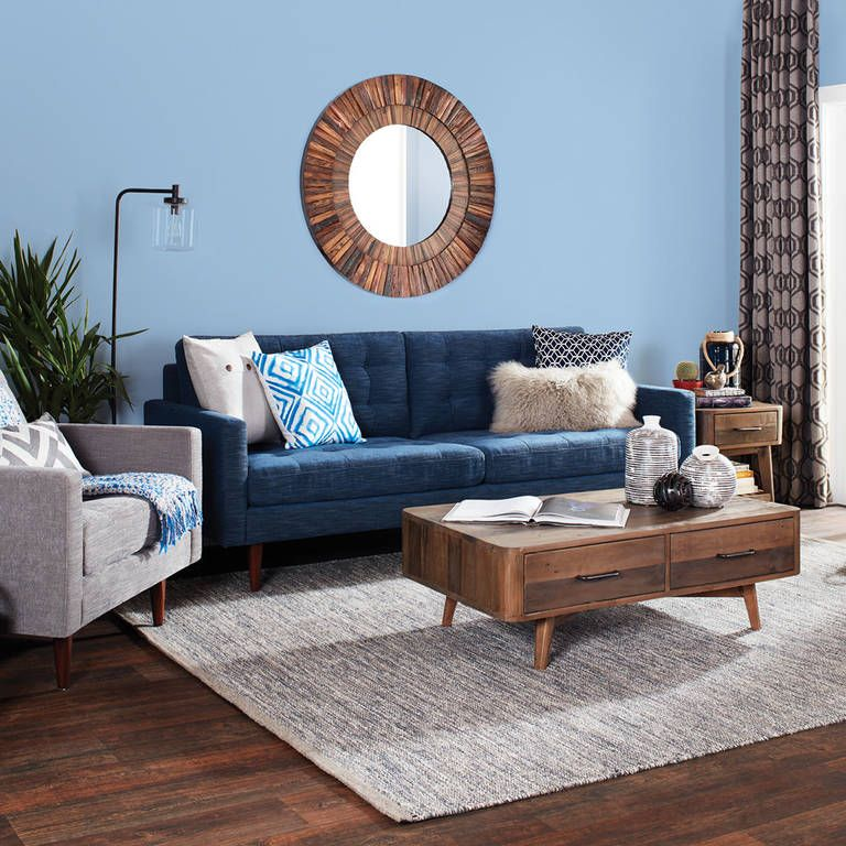Bloor Sofa Mylo Ocean Oversized Wall Mirrors Mirror