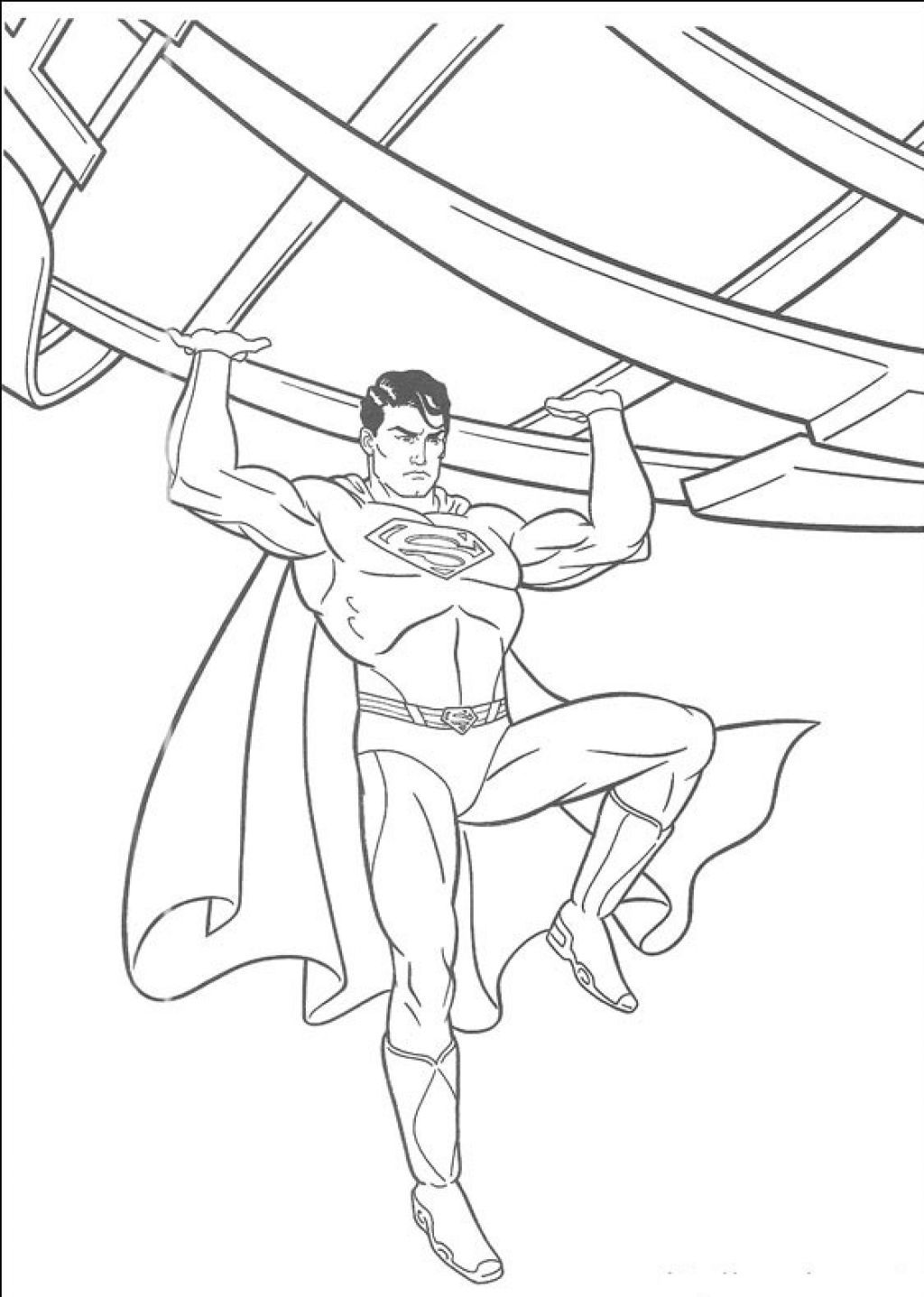 superman coloring pages - Google Search | lecturi, desene animate ...