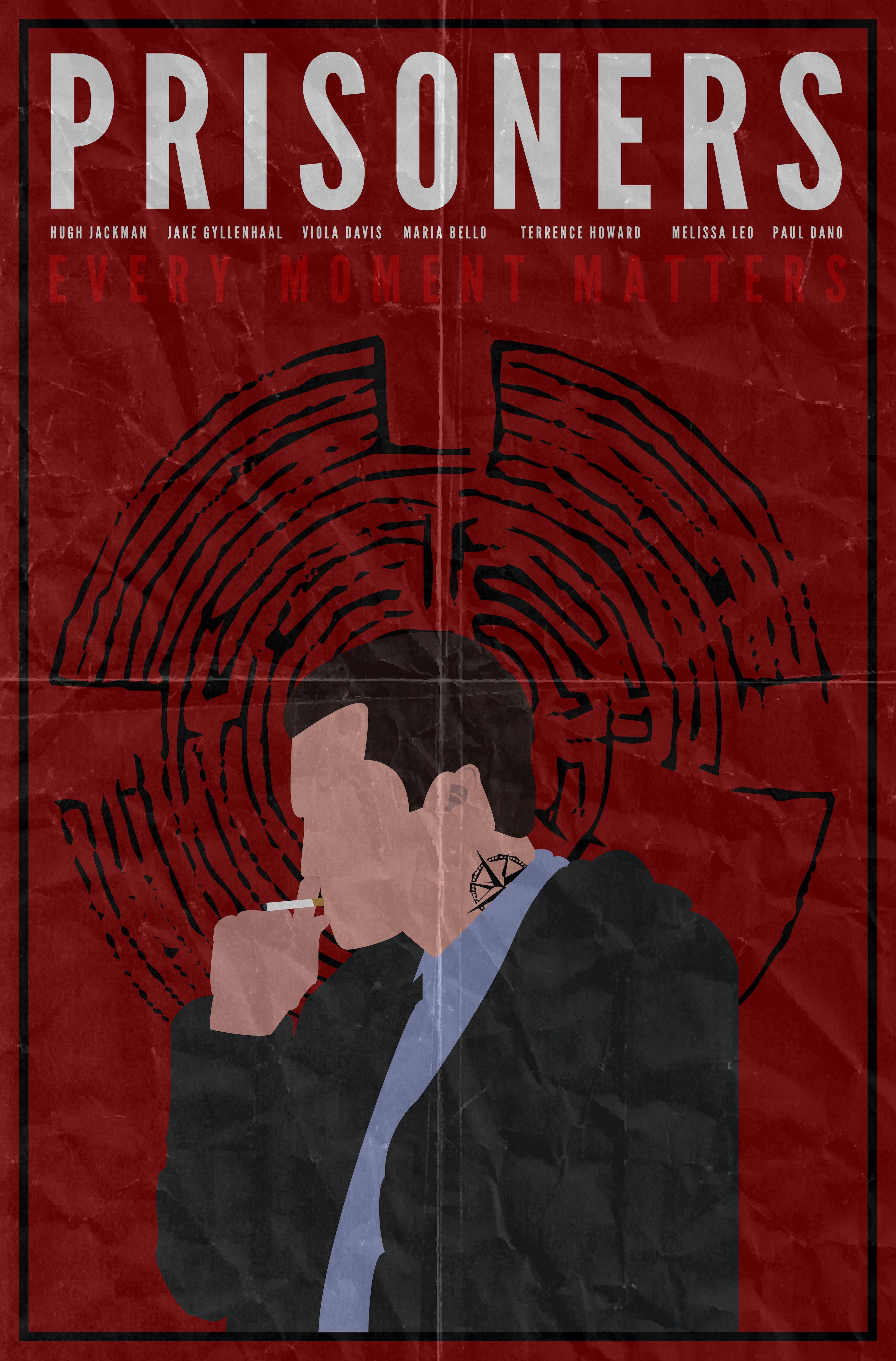 Poster design tumblr - Prisoners Minimalist Poster Design By Patrick Curley Patrickcurley Tumblr Com