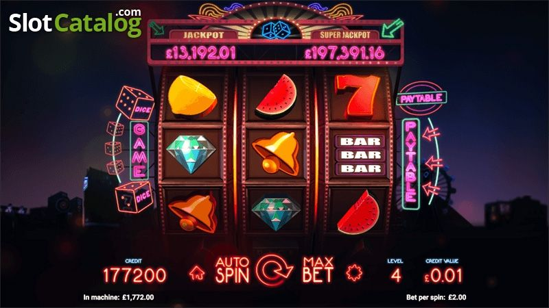 Play Lucky Dice Slots from Odobo Free on This Page