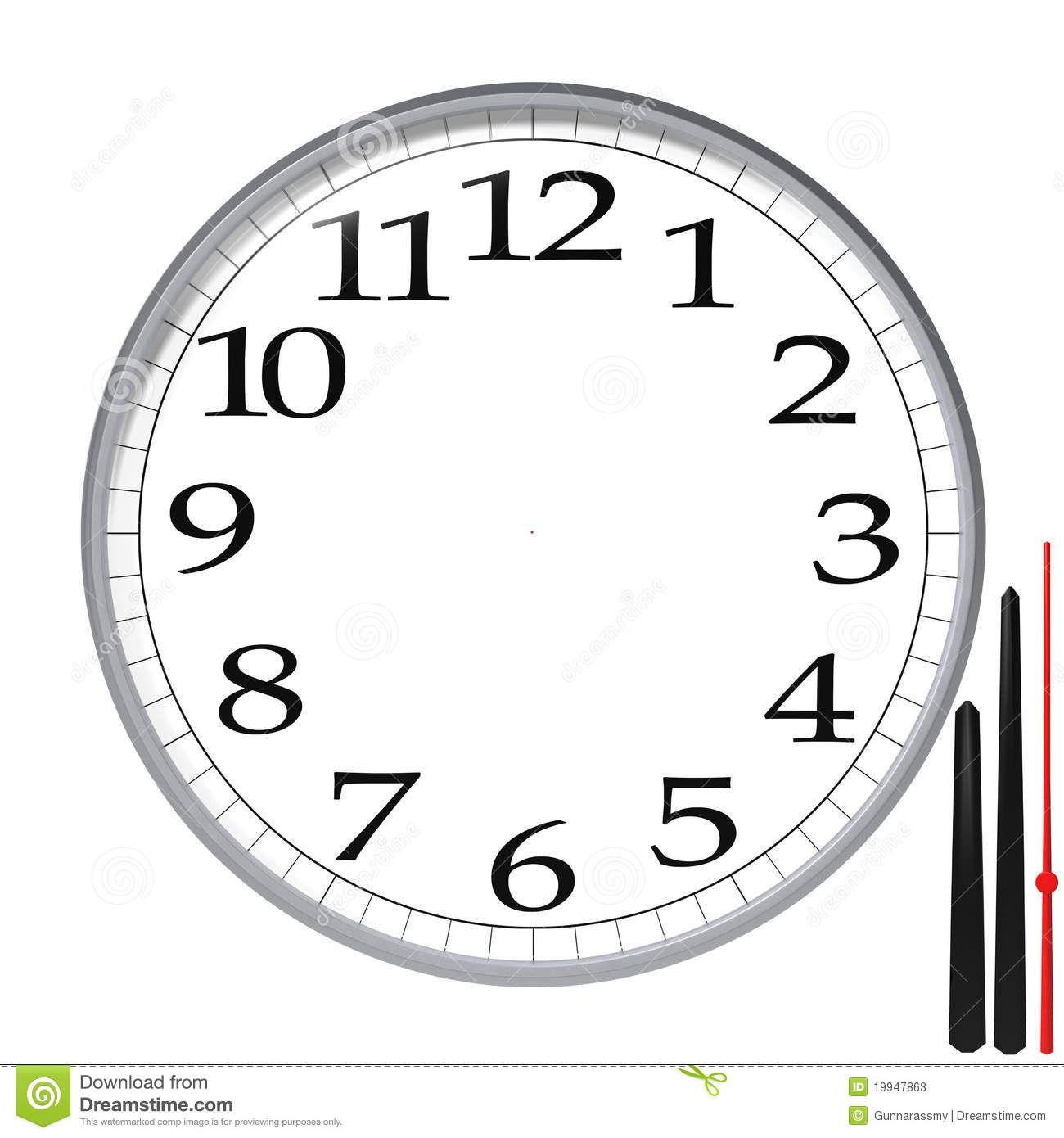 Clock Template  Google Search  So Skool    Clocks