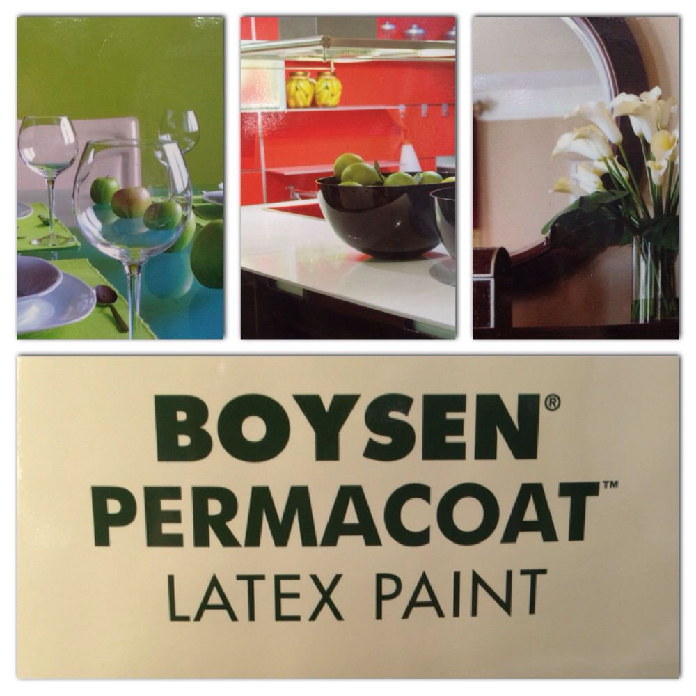 Boysen Permacoat Latex Paint is a 100% acrylic latex paint with ...