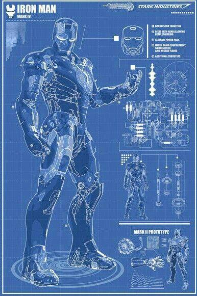 Iron Man Armor Blueprints Iron Man Bluepr...
