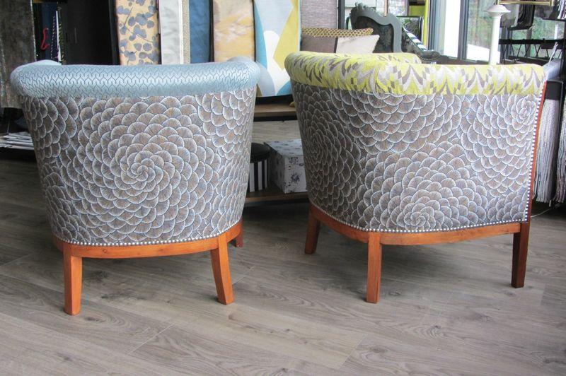 retapisser un fauteuil bohars look fauteuil et. Black Bedroom Furniture Sets. Home Design Ideas