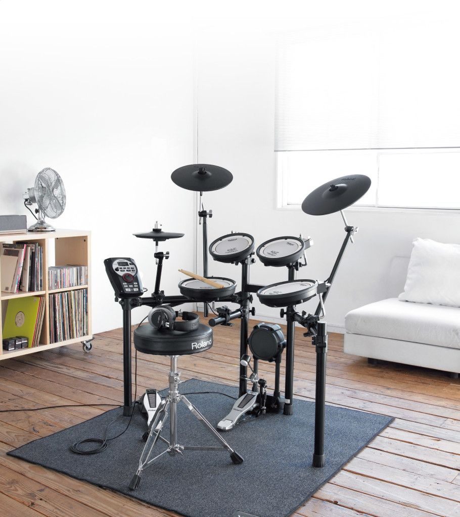 Roland Us V Drums Offer The Most Lifelike And Expressive Sounds