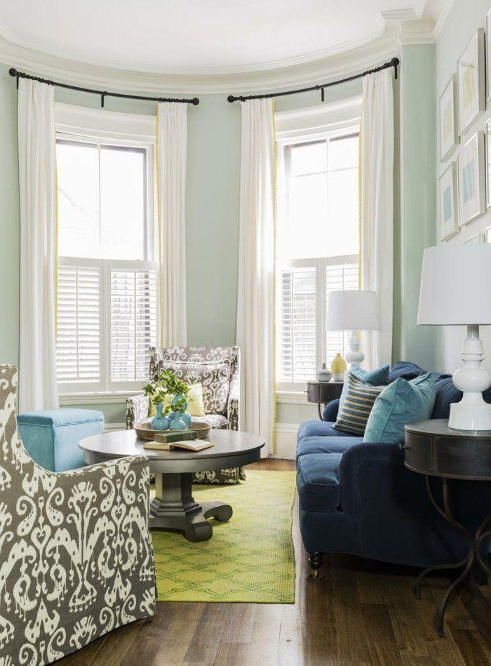 Blaues Sofa 50 Einrichtungsideen Mit Sofa In Blau Die Sehenswert