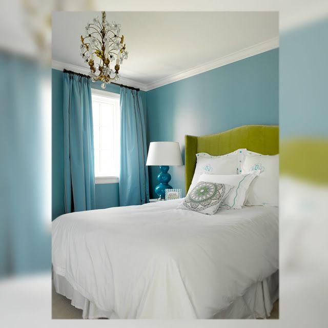 Beach House Interior Bedroom Halloween Bedroom Decorating Ideas Wall Art For The Bedroom Mint Green Bedrooms For Girls: -DECORACIÓN- Interior En Verde, Azul Y Gris
