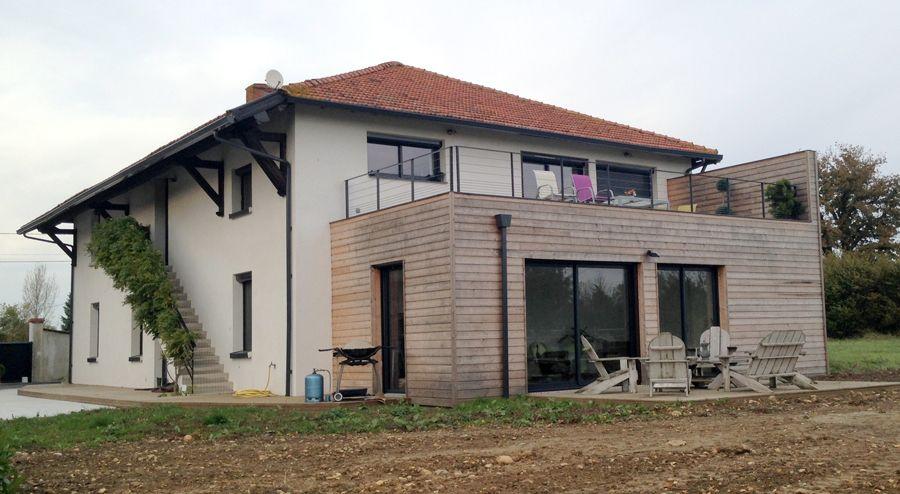 Agrandissement Maison Pas Cher Extrieur Toit Terrasse Avec Mur
