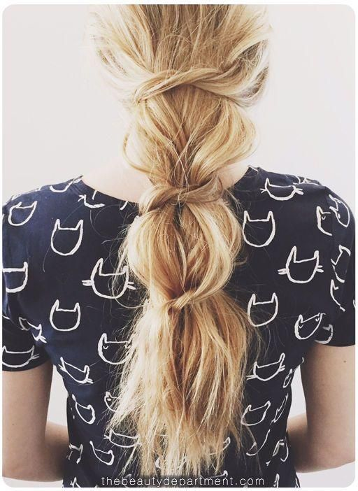 Not your average ponytail.