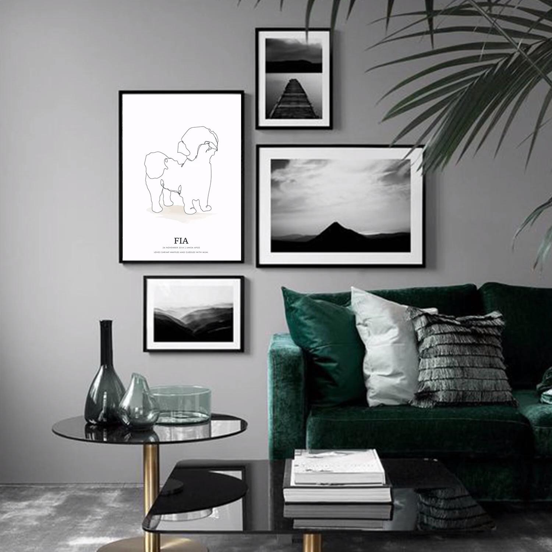 Photo of Poster wall |Livingroom ideas