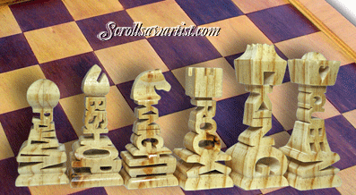 Scroll Saw Patterns :: Miscellaneous :: Compound cut - 3D ...