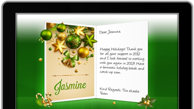 Happy Holidays eCards for Business » eCards for Business