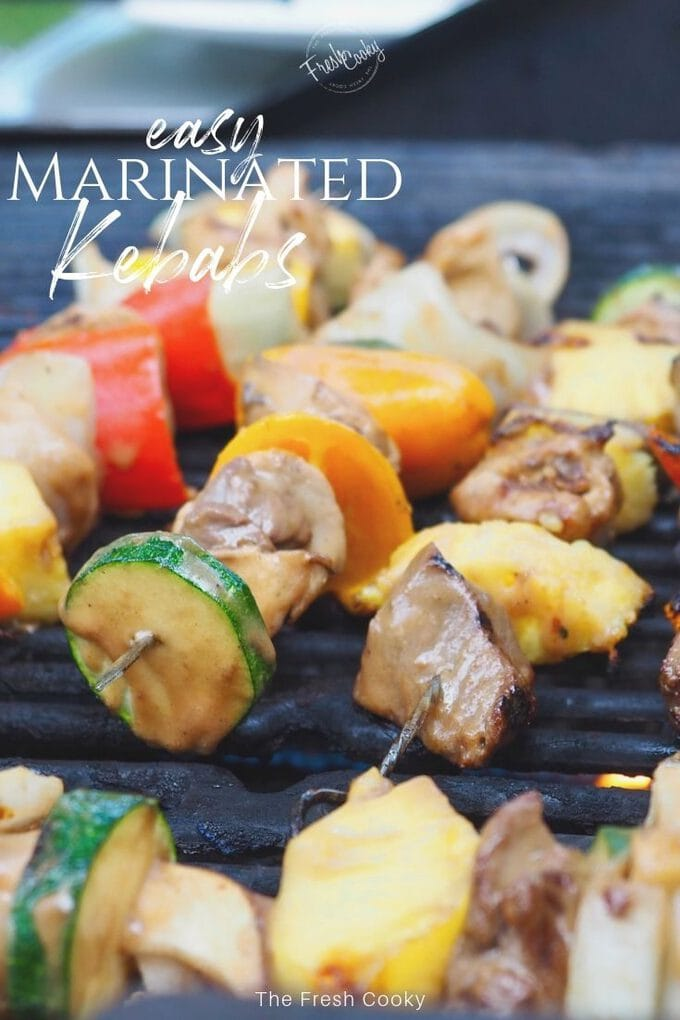 Shish Kebabs {Beef or Chicken Marinade} • The Fresh Cooky