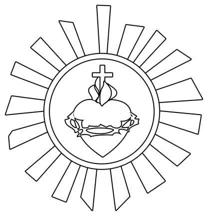 Heart Of Jesus Szukaj W Google Desenho Jesus Tapete De Corpus